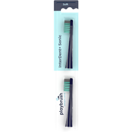 playbrush Borsthuvud Smart One (2x) mynta