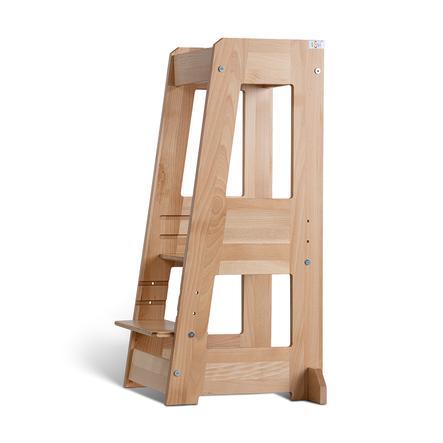 tiSsi ® Torre di apprendimento montessoriana Felix color legno