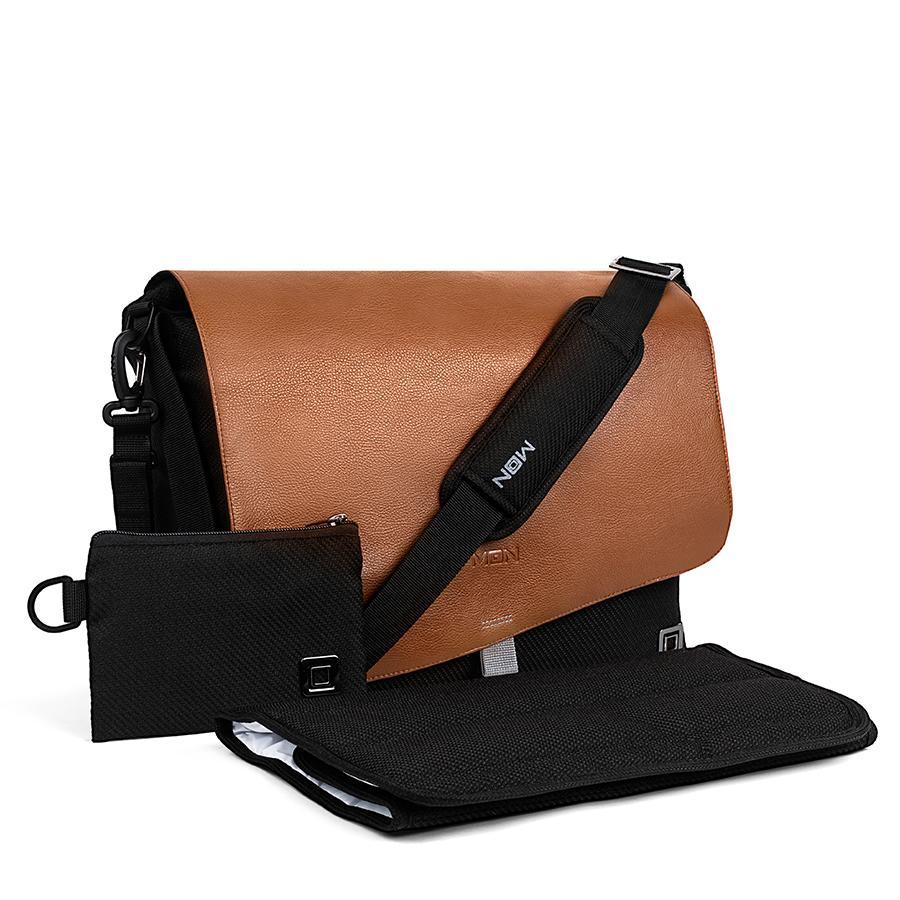 MOON pusletaske Brown Flap Collection 2021