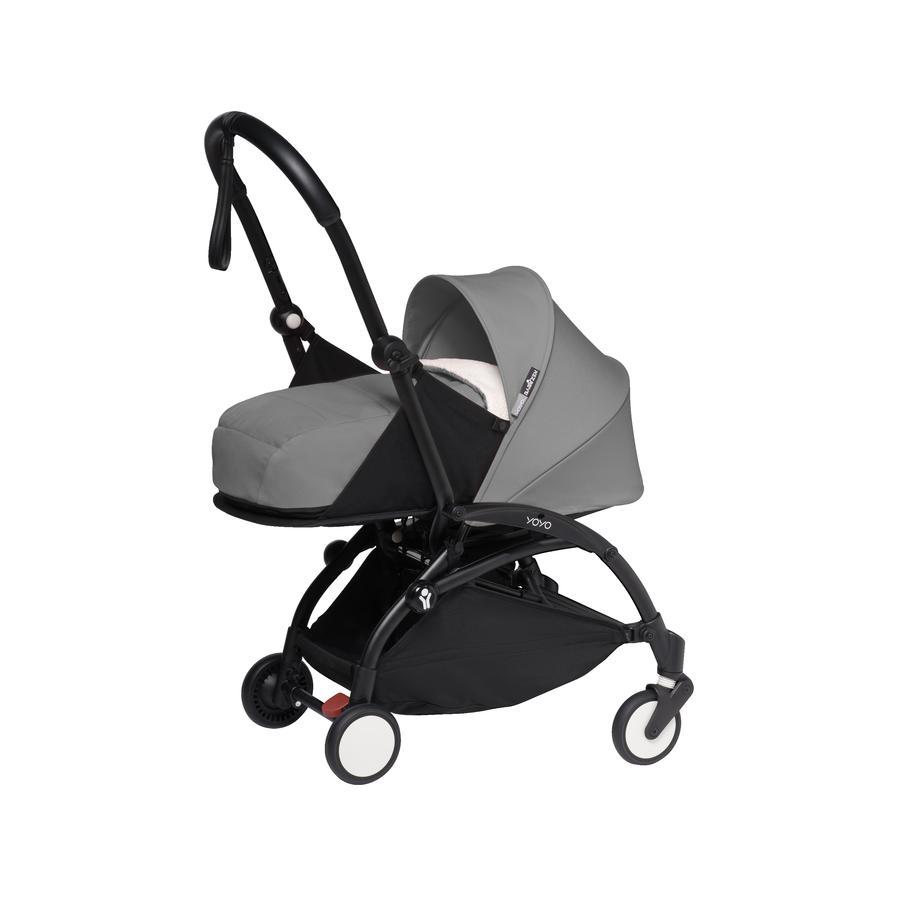 BABYZEN Kinderwagen YOYO2 0+ Black/Grey-grau