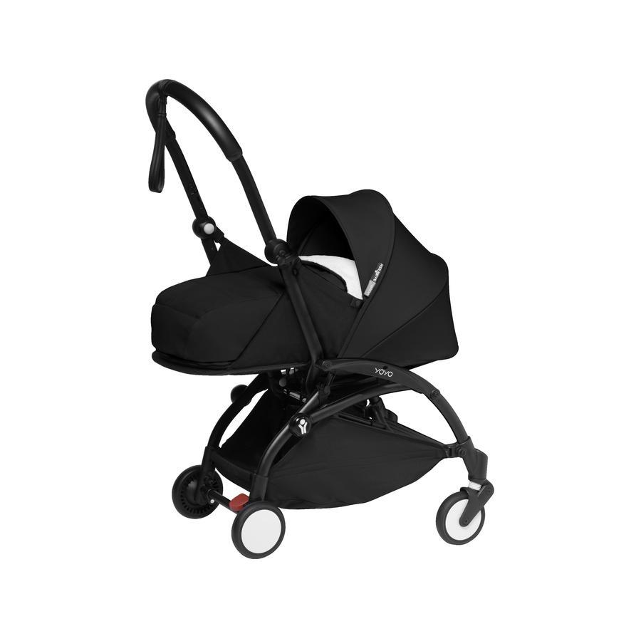 BABYZEN Kinderwagen YOYO2 0+ Black/Black-schwarz