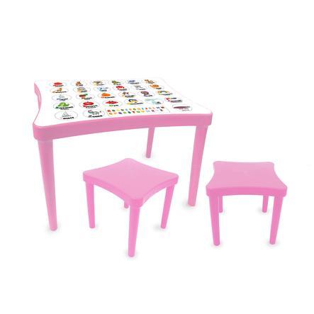 JAMARA Sittgrupp för barnlärande barn - rosa
