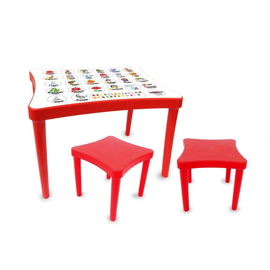 JAMARA Kindersitzgruppe Easy learning - rot