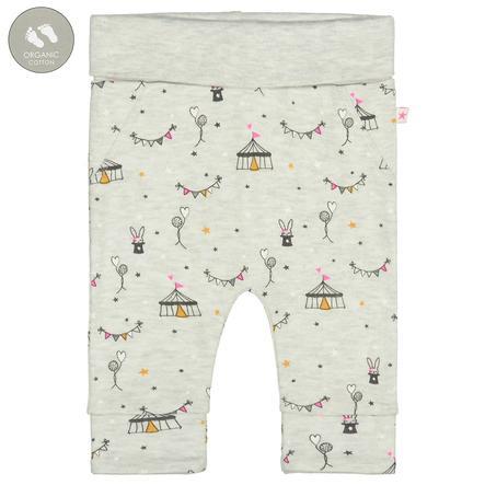 STACCATO Pants creme melange mønstret