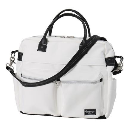 Emmaljunga Wickeltasche Travel Leatherette White