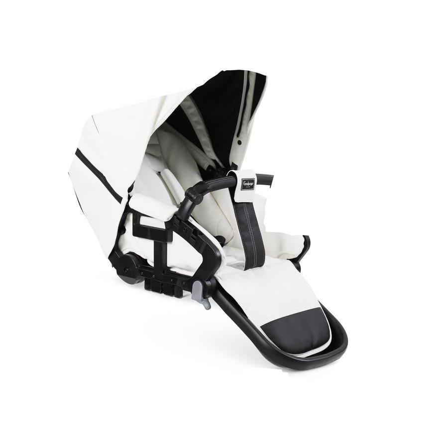 Emmaljunga Sitzeinheit Flat NXT Leatherette White