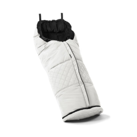Emmaljunga Allround Fußsack Leatherette White