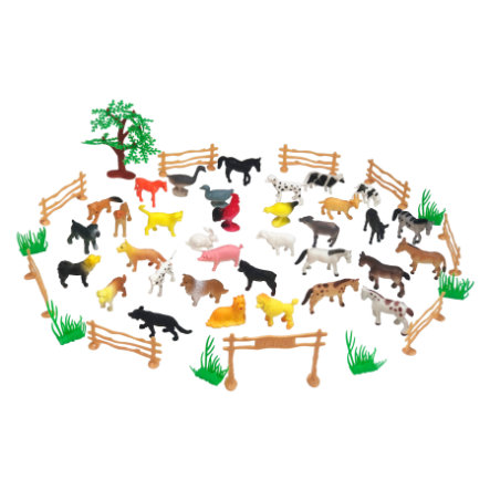 JAMARA Animal lekesett Farm Animals 50 stk.