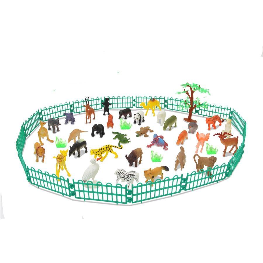 JAMARA Tierspielset Wild Animals 53-tlg.