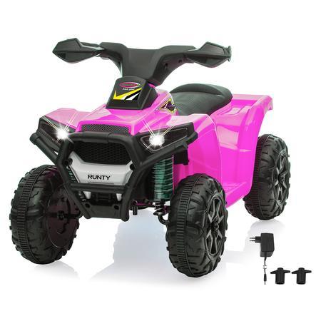 JAMARA Ride-on Mini Quad Runty pink  6V