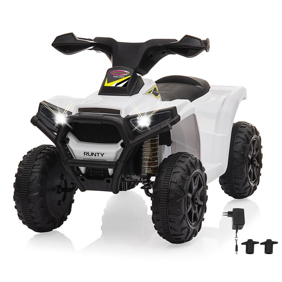 JAMARA Ride-on Mini Quad Runty hvit 6V