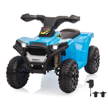 JAMARA Ride-on Mini Quad Runty blau 6V