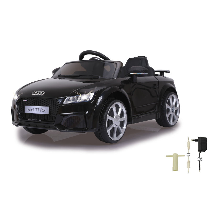 JAMARA Ride-on Audi TT RS schwarz 12V