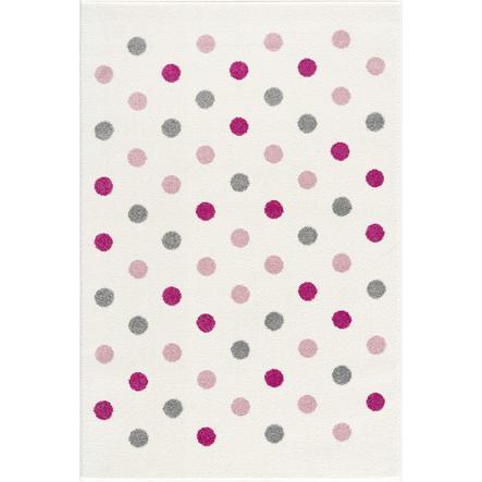 LIVONE Tapijt Happy Rugs Confetti creme/roze/zilvergrijs 120 x 180 cm