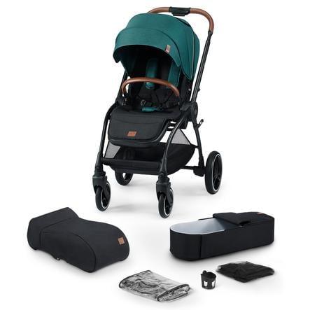 Kinderkraft Kinderwagen Evolution Cocoon 2 in 1 Midnight Green
