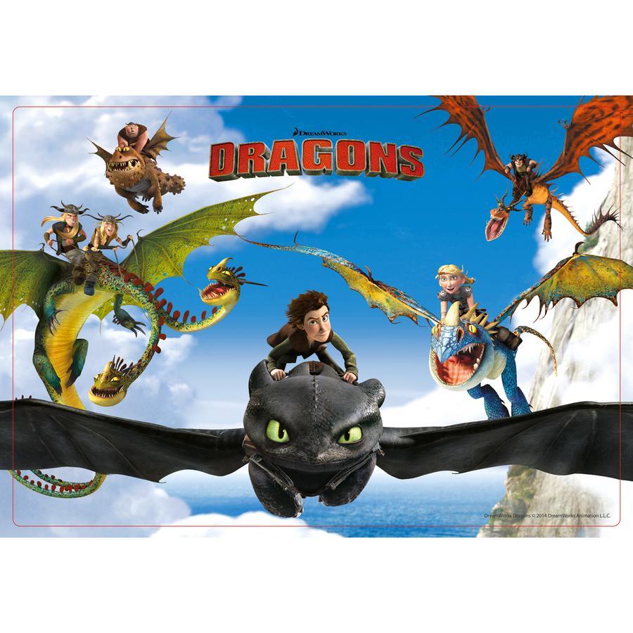 P:OS Podkładka śniadaniowa Dragons