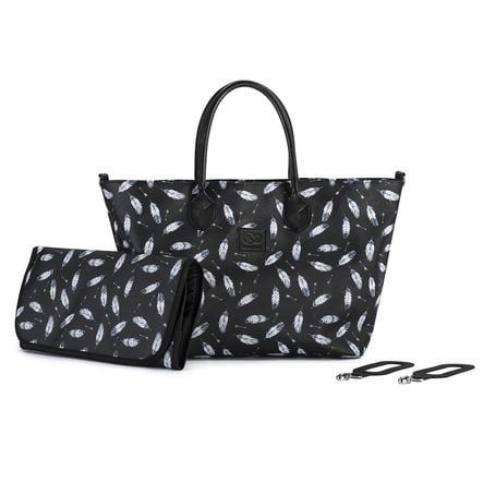 Kinderkraft Wickeltasche Mommy Bag Black