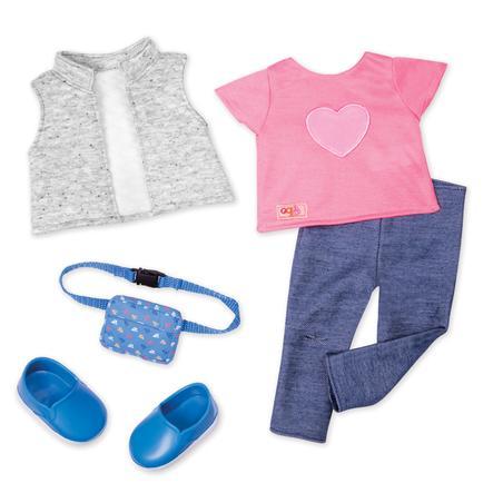 Our Generation - Outfit Auf Reisen mit Bauchtausche