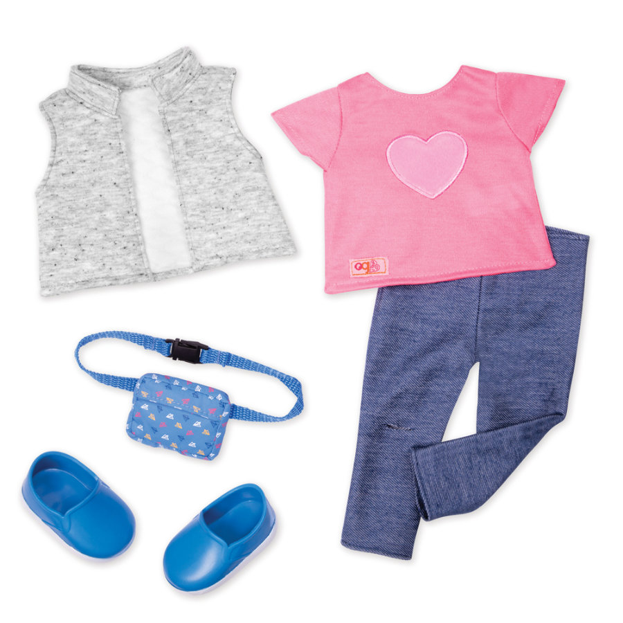 Our Generation - klädesresa med magbyten