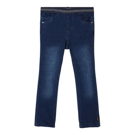name it Leggings NMFSALLI Dark Blue Denim