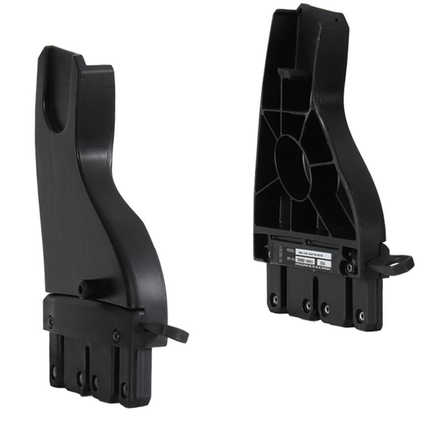 Emmaljunga Adapter NXT (MaxiCosi/CabrioFix/Pebble+Cybex,,Besafe) Black