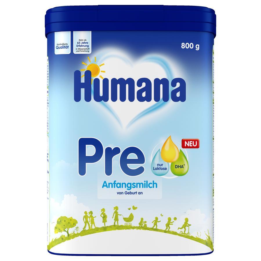 Humana Anfangsmilch Pre 800 g ab der Geburt