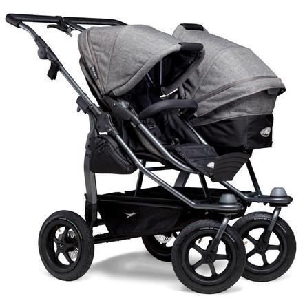 tfk Carro de bebé Combi gemelar Duo Air Premium Gris