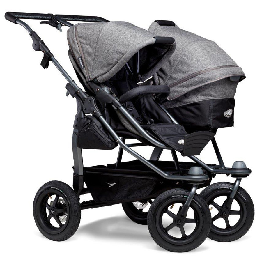 tfk Duo Air Premium Grey Combi Stroller