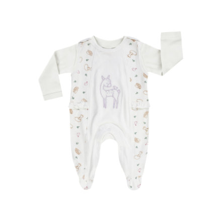 JACKY Baby romper set WOODLAND TALE off-- white