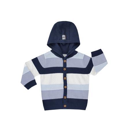 JACKY Cardigan a maglia con cappuccio SPACE JOURNEY  arricciato