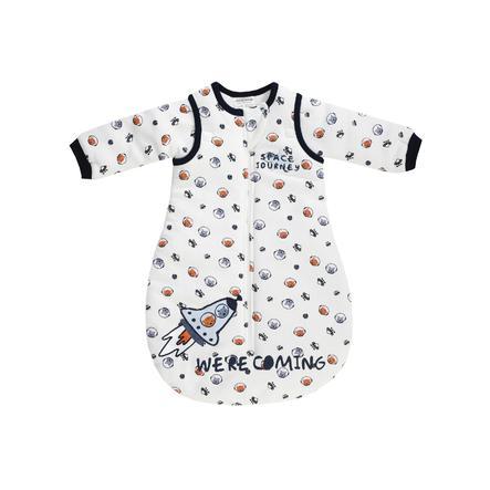 JACKY Gigoteuse bébé ouatinée SPACE JOURNEY manches amovibles motifs all-over