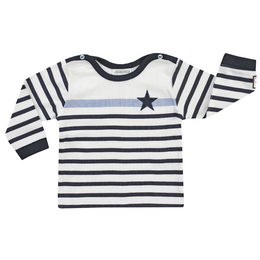 JACKY shirt met lange mouwen Space Journey off- white / strepen