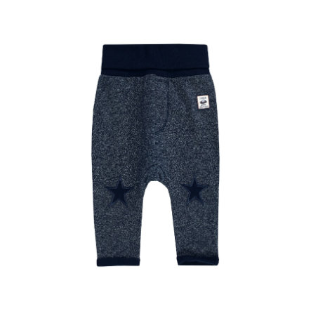 JACKY Pantalones SPACE JOURNEY melange azul oscuro