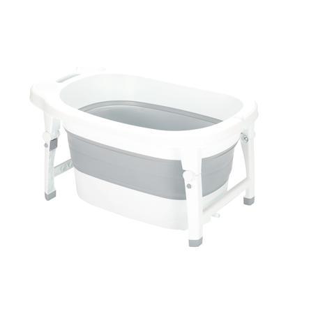 fillikid Foldbart badekar Vario grå / hvid