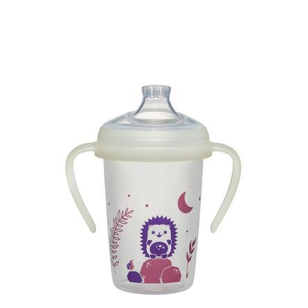 nip ® Botella para beber first momentos Día & Night 270 ml Erizos a partir de 6 meses de edad