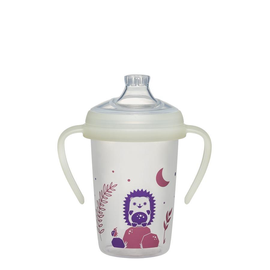 nip® Trinklernflasche first moments Day & Night 270 ml Igel ab dem 6. Monat