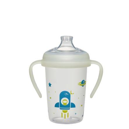 nip ® Biberón first momentos Día y Night 270 ml Cohete a partir de 6 meses de edad