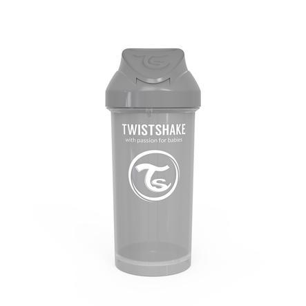 TWIST SHAKE Halmflaske Halmkopp 360 ml 12+ måneder pastellgrå