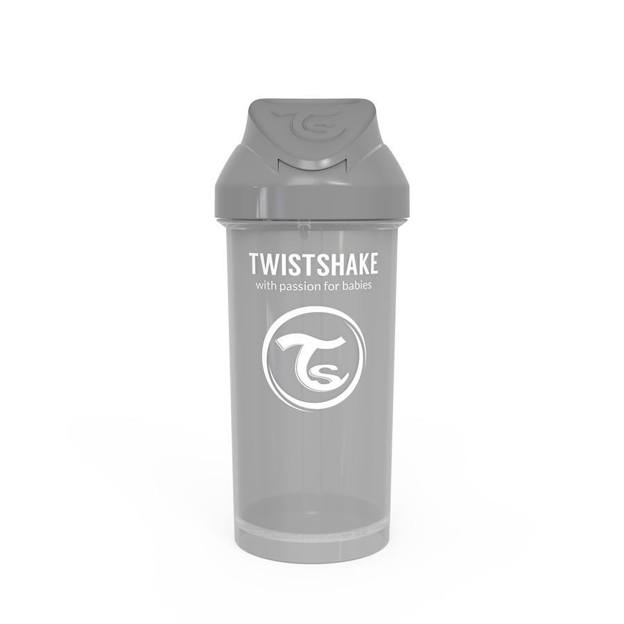 TWIST SHAKE  Bouteille de paille Tasse de paille 360 ml 12+ mois gris pastel