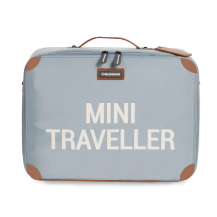 CHILDHOME Kinderkoffer Mini Traveller grijs / antiek wit