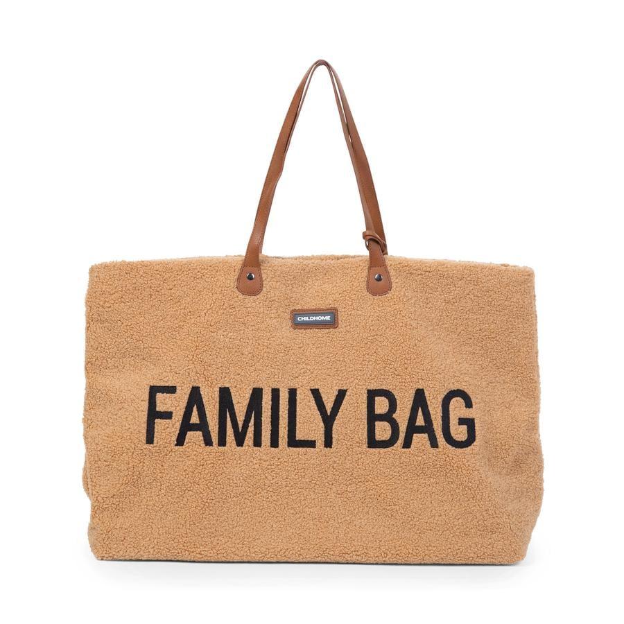 CHILDHOME Sac à langer Family Bag Teddy beige