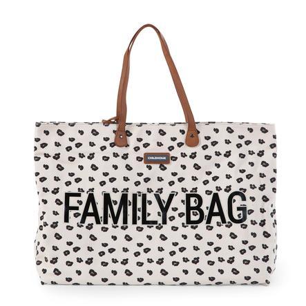 CHILDHOME Hoitolaukku family bag Leopard