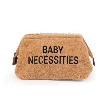 CHILD HOME Baby Noodzakelijkheden Toiletzak Teddy beige