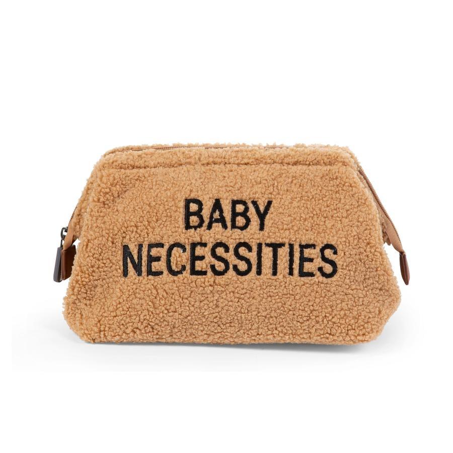 CHILDHOME Trousse de toilette enfant Baby Necessities peluche beige