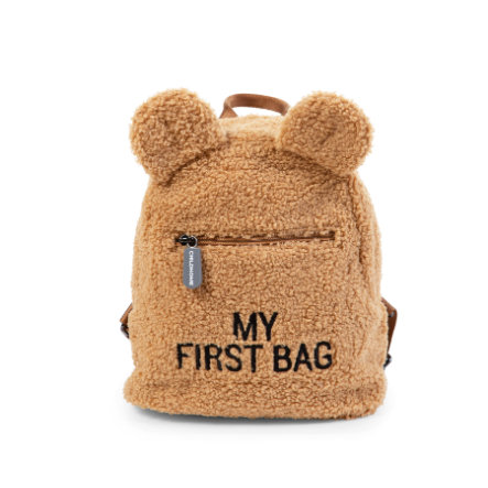 CHILDHOME Kinderrucksack My First Bag Teddy beige