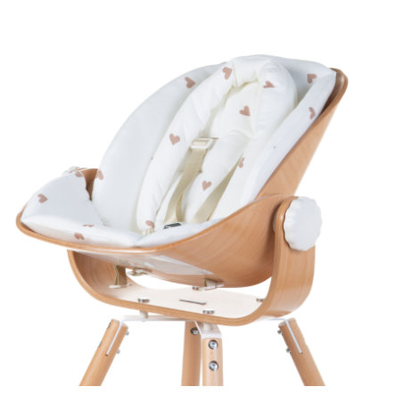 CHILDHOME Newborn Sitzkissen Evolu Hearts