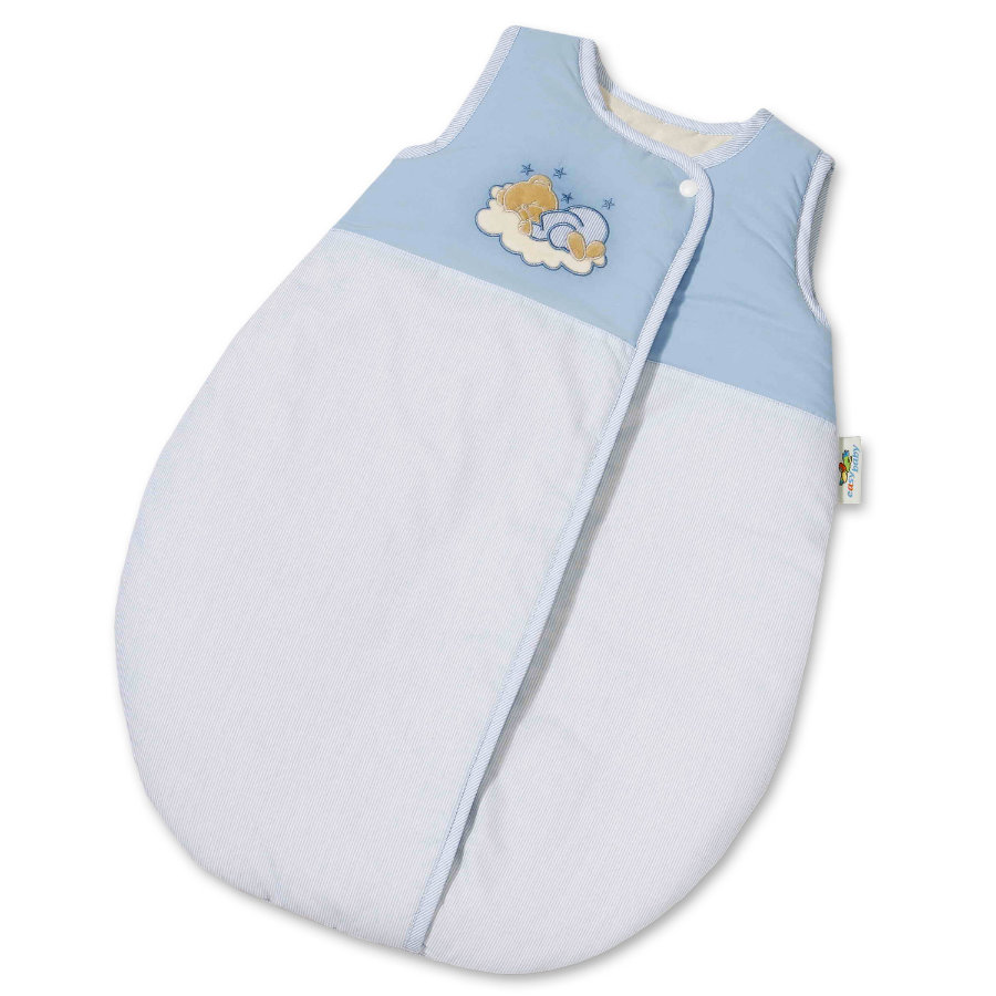 Easy Baby Molton Sleeping Bag 90cm Sleeping bear Blue(451-81)