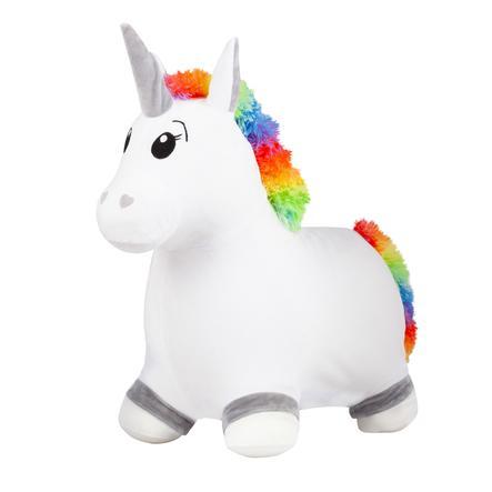 John Fluffy Hop Hop Unicorno con rivestimento in peluche