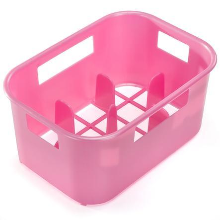 reer Flaschenkasten in perlmutt-rosa