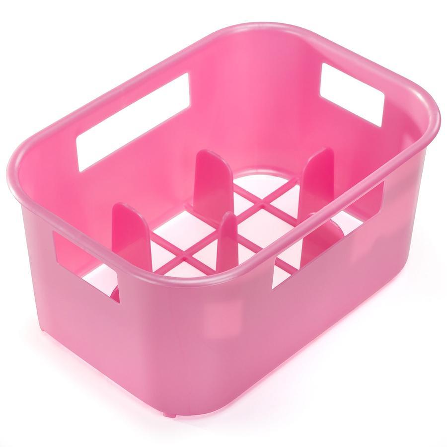 REER Flaskbox rosa genomskinlig  (25616)